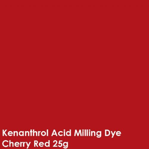Cherry Red kenanthrol acid milling dye shade 25g